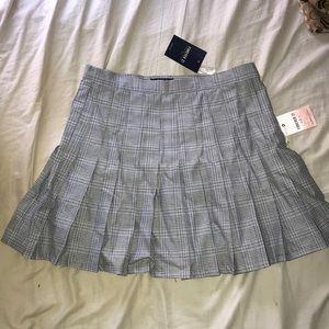 Forever21 mini pleated school girl skirt